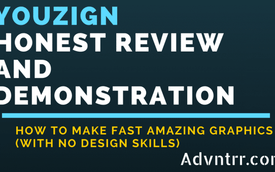 Honest Youzign Review and Demonstration - How to make fast amazing graphics with no design skills