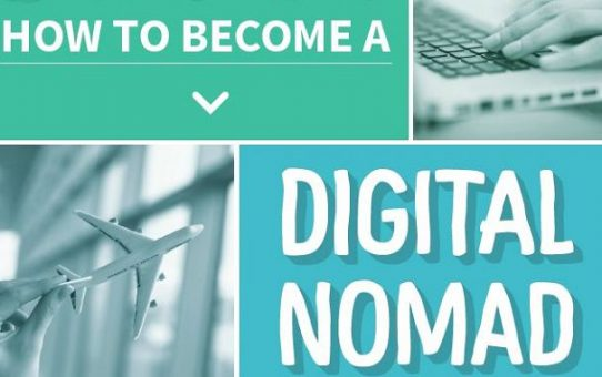[Infographic] How To Become A Digital Nomad